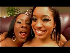 Aliana Love & Ms. Platinum Threesome
