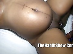 Black Pregnant pussy eating cream filled pussy fucked