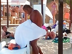 Bulgarian suck on beach