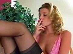 Carli Banks is the sexiest smoker ever