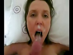 amateur cocksucker great facial