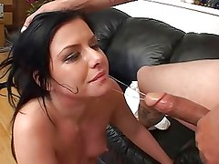 Taryn Thomas slapped and facefucked. It's make her happy