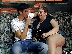 He bangs hot fat chick