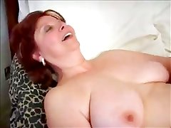 Old Mature Woman Sucks & Fucks