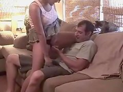 Some Perverted Rookie sofa sex