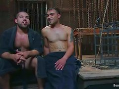 Crazy Gay BDSM Action with Extreme Bondage and Torture