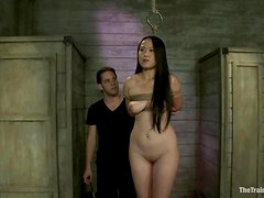 Madeleine Mei gets toyed and fucked in her mouth