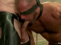 CJ Madison and Dante suck each other's dicks in a hot BDSM clip