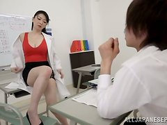 Hitomi Oohashi Japanese Desperate for Cock Blowjobs and Titjobs