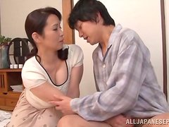 Chubby Asian MILF Yuuka Kuremach Getting Fucked after Sucking Dick