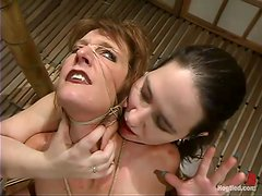 Femdom sadism is going on in this hot BDSM action