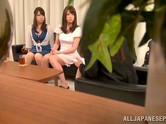 Hardcore Fucking after Toying and Fingering for Japanese Girl