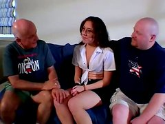 Stout blowjob scene performed by experienced porn star Shannon