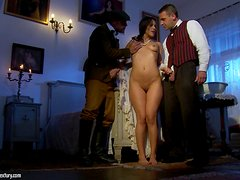 Samia Duarte gets rammed by two men in cosplay video