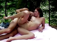 Amateur Anal Sex In The Forest