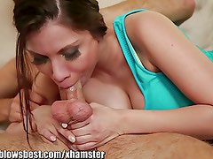 MommyBB Aleksa Nicole is sucking her friend's son!