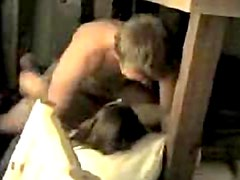 Bunk bed banging of college GF