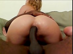 blond with bbc in ass