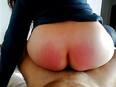 Lia Portuguese wife riding ...