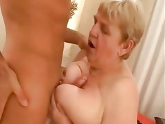 Fucking an Old and Fat Granny