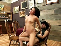 Danica Dillan asks her man to drill her sweet mouth