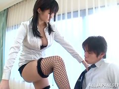 Horny Japanese Bitch Gets Excited In Public Places!