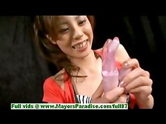 Natsumi Mits innocent lovely asian girl gets her pussy poked