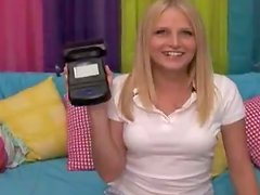 Horny blond teen Ziggy is stunning from his size