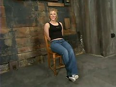 Gag Ball and Domination Fun in Bondage Vid with Crystal Frost