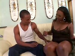 Ebony Chyna Red Gets Fucked Doggystyle And Missionary