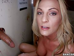 Sindy Lange is a dick hungry blonde milf with with