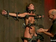Pretty Extreme Bondage and Torture Session for Cassandra Nix