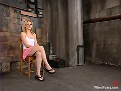 Lesbian Domination for Gia Paloma in Bondage and Toying Session