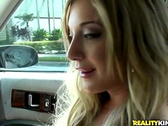 Blowjob in the Car and Hardcore Anal Sex in the Boat with Amy Brooke
