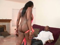 Amazing Ebony Whore With Great Ass Gets Nailed Hard