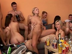 Exclusive huge core Homemade party Compilation