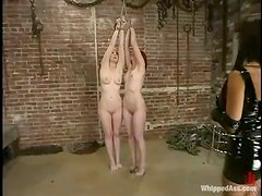 Cowgirl and Kendra James enjoy being dominated by a gorgeous brunette