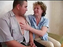 Mature Mom Fucks Young Man
