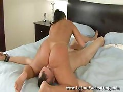 Watch Nude Latin domina facesitting