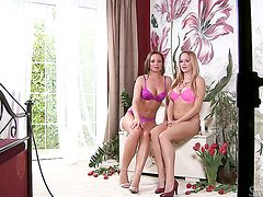 Silvia Saint and Stacy Silver are two dykes