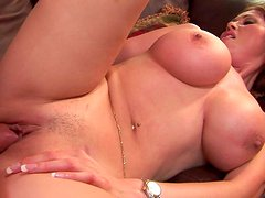 Busty Asian bombshell rides dick like a true cowgirl