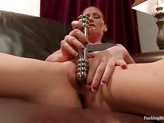 Anal Fucking by Machine and Pussy Destroying for Ariel X