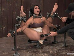 Sexy DragonLily gets toyed and whipped in BDSM
