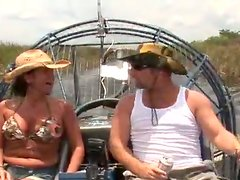 Busty milf is enjoying that huge dick on the boat