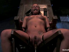 Sara Faye enjoys being pulled by the nipples in BDSM clip