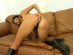Keeani Lei shows off her butt and gets it fucked in all positions