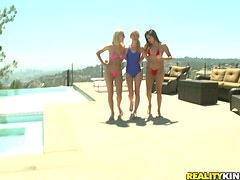 Lesbian love triangle with Ariel Summers