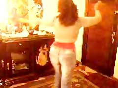Arab Egyptian whore wife dancing dirty dance