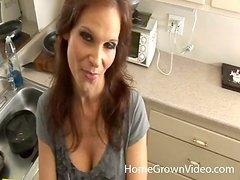 A very hungry milf is going to give you a nice head