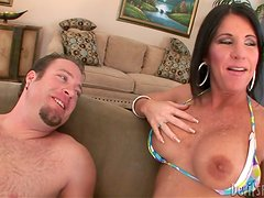 Hot MILF Has Many Skills But She is Best at Blowjobs